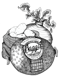 gillian-kyle-scottish-food-art-haggis-neeps-tatties