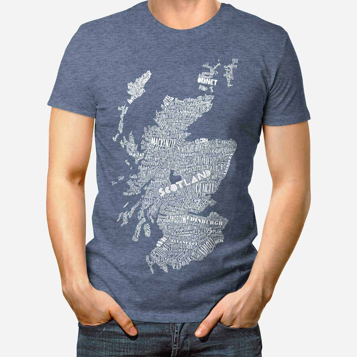 Gillian kyle scottish clothing scotland map mens tee shirt for Tahari t shirt mens