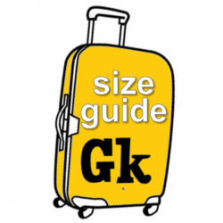 size guide suitcase
