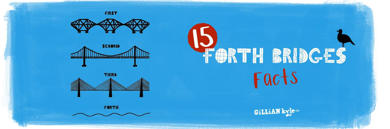 Forth Bridges Facts by Gillian Kyle