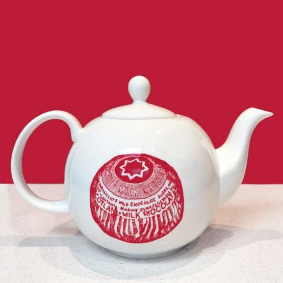 Tunnock's teacake teapot by Gillian Kyle
