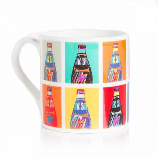 POP! IRN-BRU merchandise range from Scottish artist Gillian Kyle