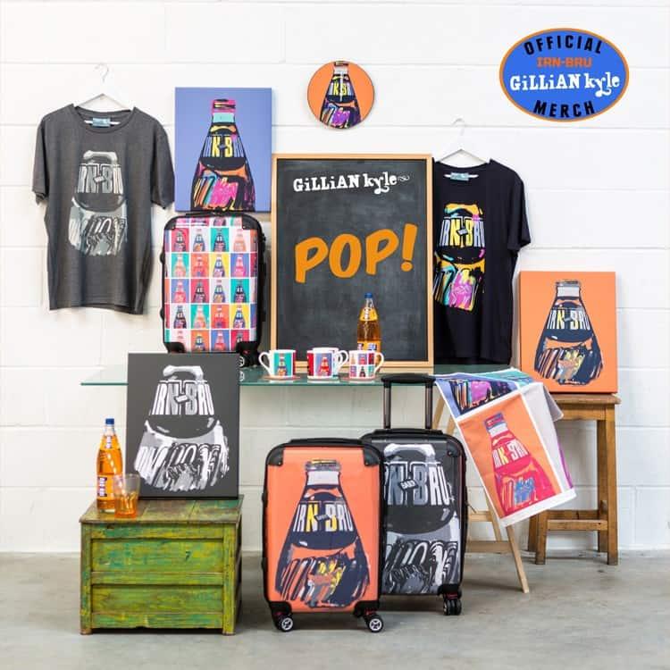 Irn Bru merchandise range
