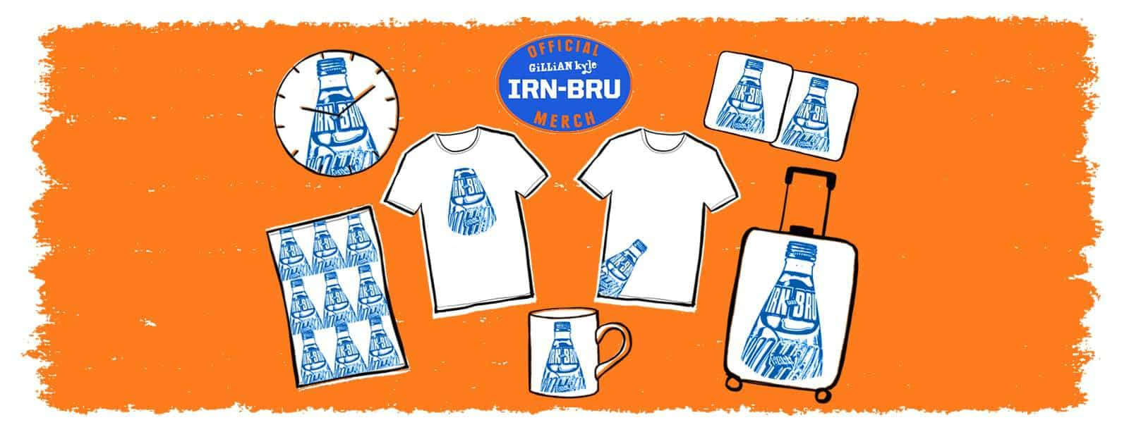 Official Irn Bru gifts from Gillian Kyle