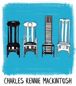 Charles Rennie Mackintosh icon from Gillian Kyle
