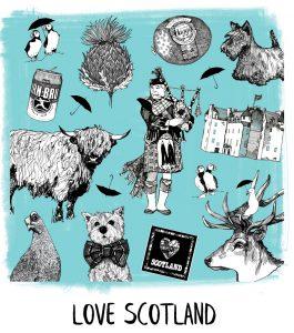 Gillian Kyle Scottish Artist Design Ranges
