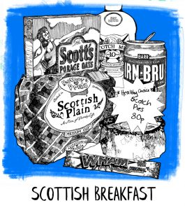 Scottish Breakfast icon from Gillian Kyle