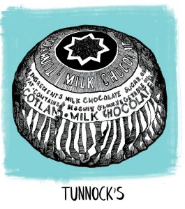Tunnocks icon from Gillian Kyle