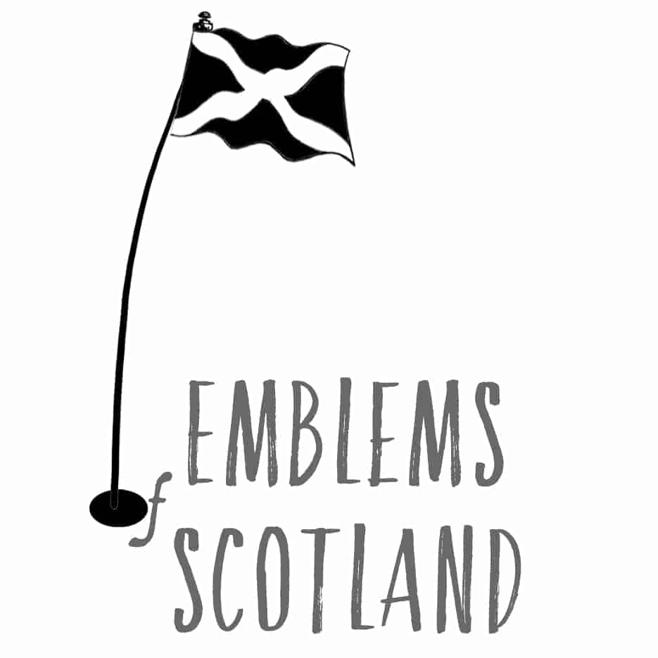 Emblems of Scotland logo by Scottish Artist Gillian Kyle