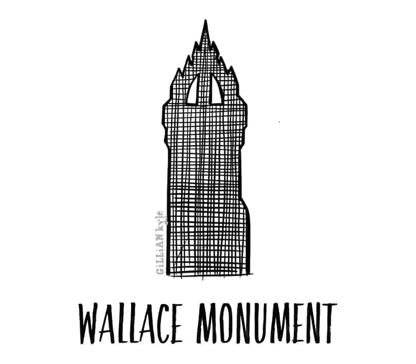 Wallace Mounment by Gillian Kyle