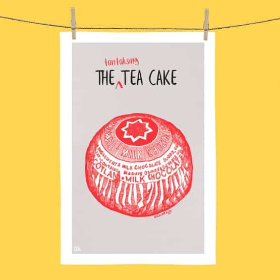 Tunnocks Tea Cake tea towel
