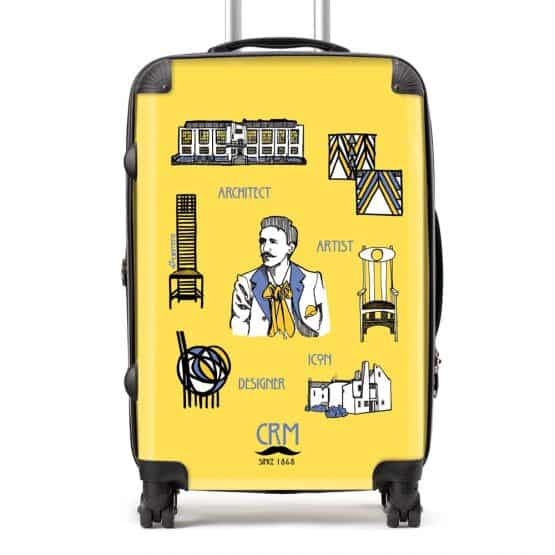 Charles Rennie Mackintosh suitcase by Gillian Kyle