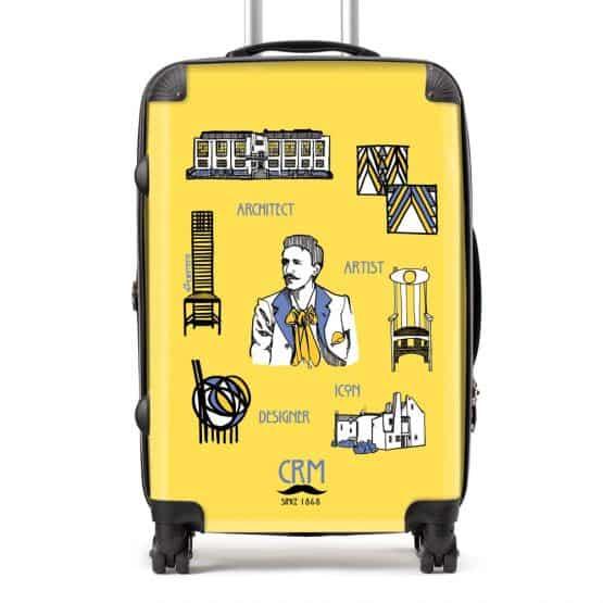 Charles Rennie Mackintosh suitcase by Gillian Kyle
