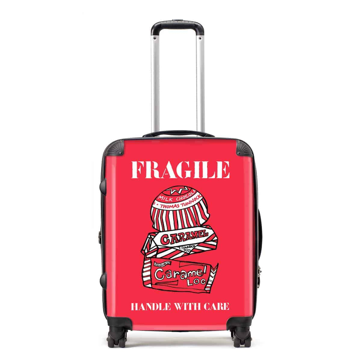 Tunnocks Fragile suitcase