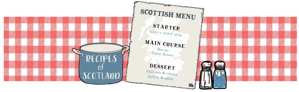 recipes of Scotland Scottish Menu