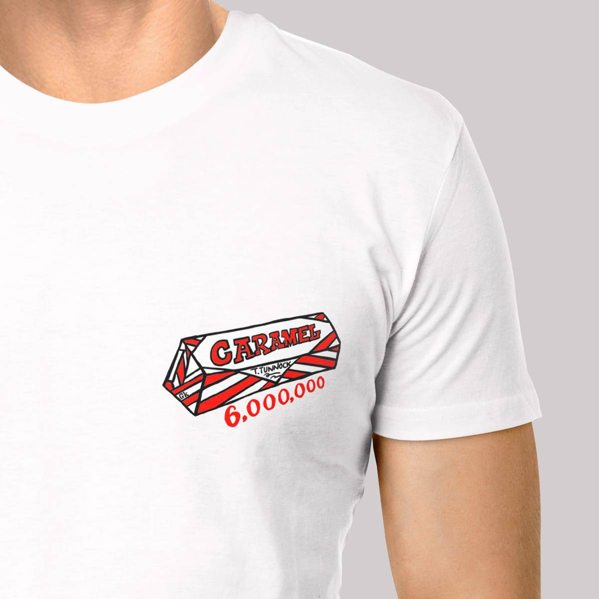 Tunnocks caramel wafer t shirt