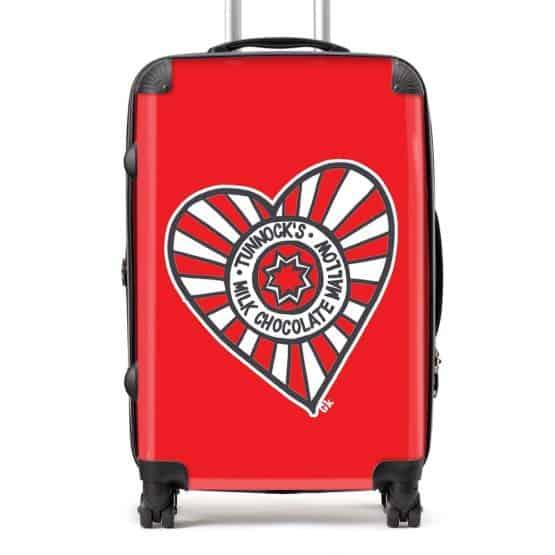 Tunnock's Heart Suitcase