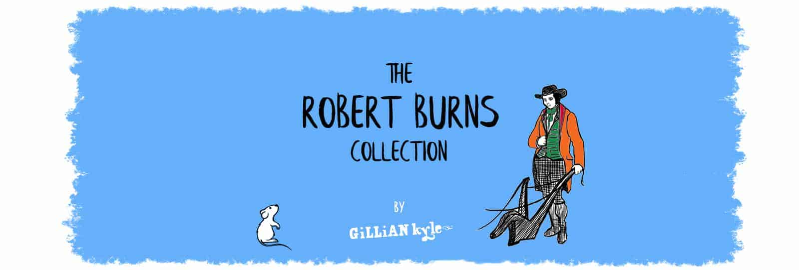 Robert Burns Collection of products and gifts by Gillian Kyle