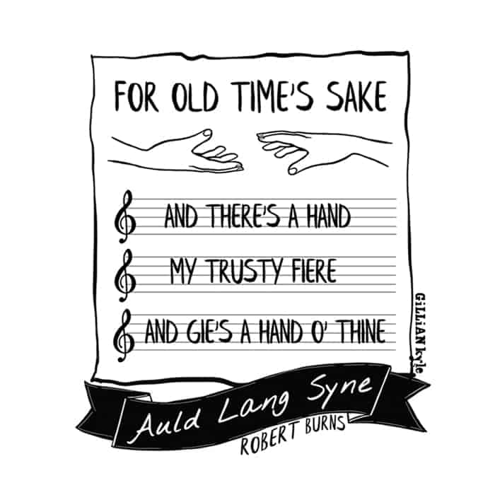 Auld Lang Syne illustrated by Gillian Kyle