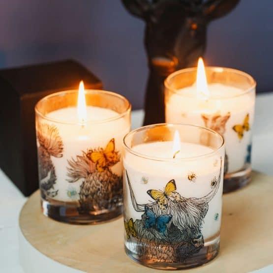 Gillian Kyle Scottish Thistle Candle