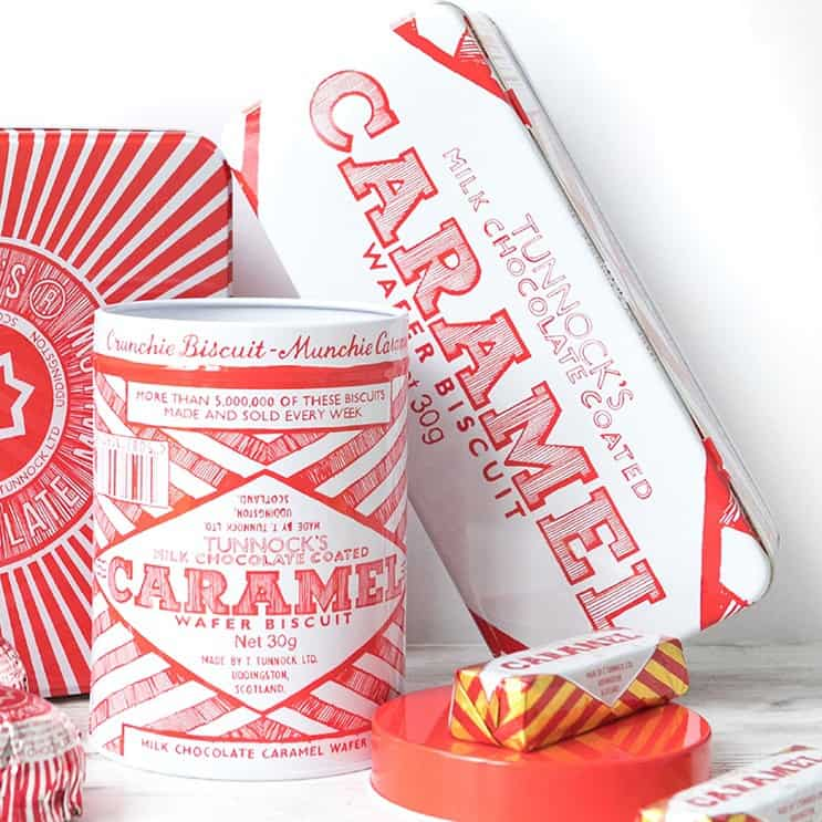 Tunnocks Tins by Gillian Kyle