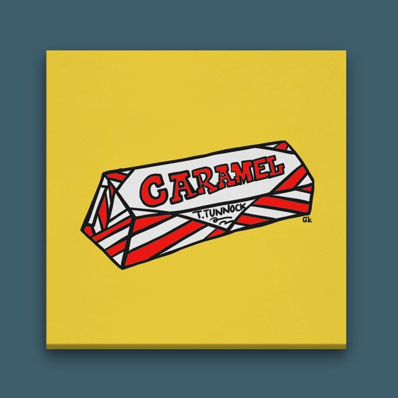 Gillian Kyle Tunnock's Caramel Wafer Canvas