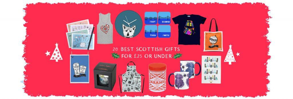 Scottish Christmas presents by Gillian Kyle