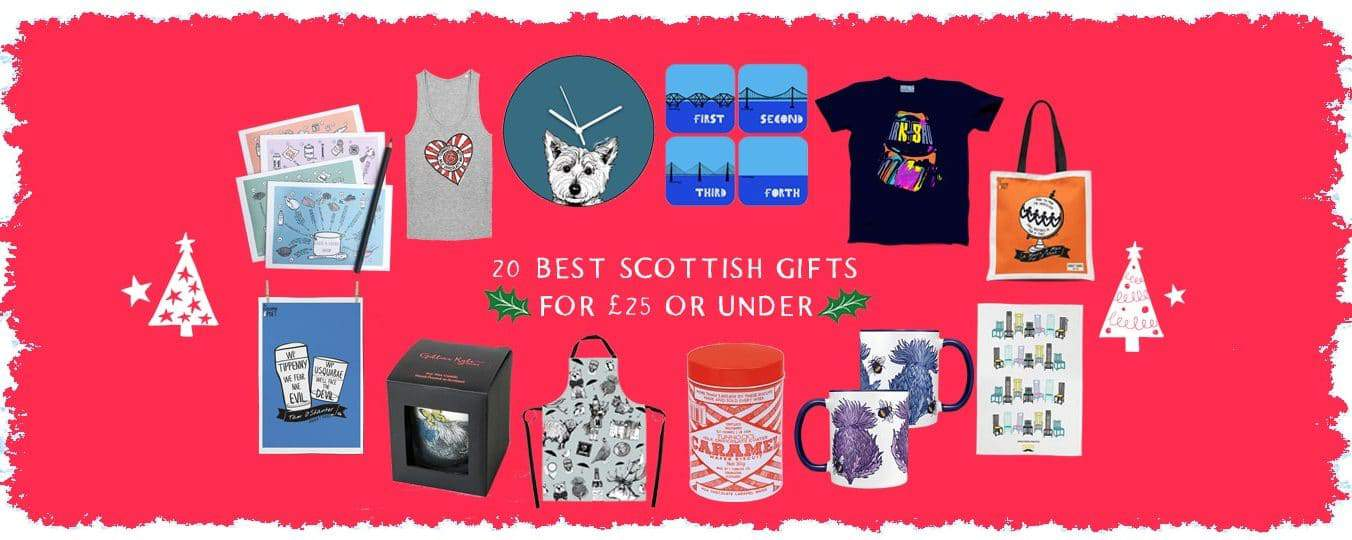Gillian Kyle Best Scottish Gifts for £25 and under