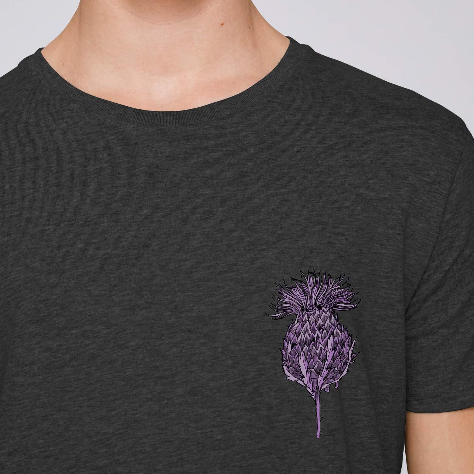 Scottish Thistle Mens T-shirt