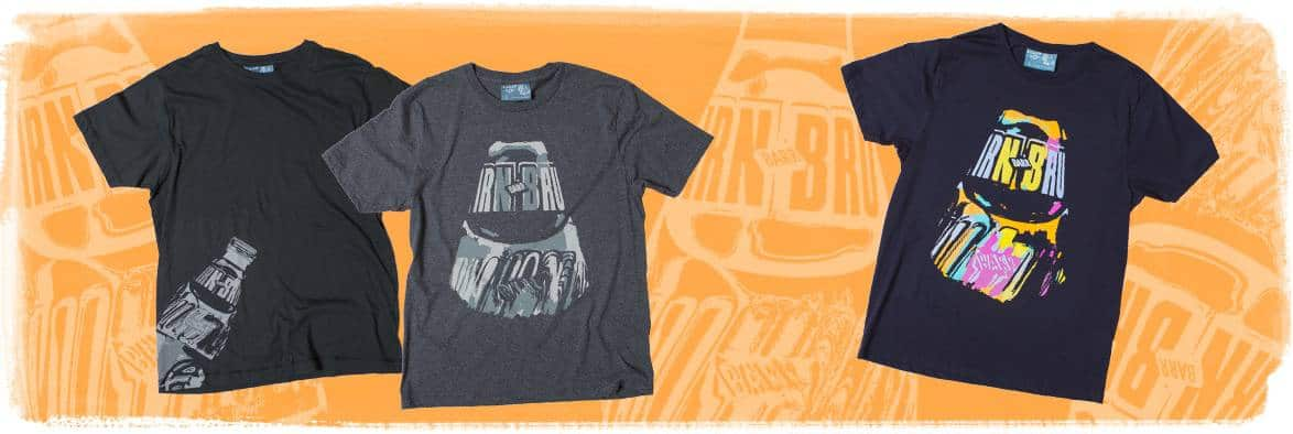 Irn Bru collection t shirts by Gillian Kyle