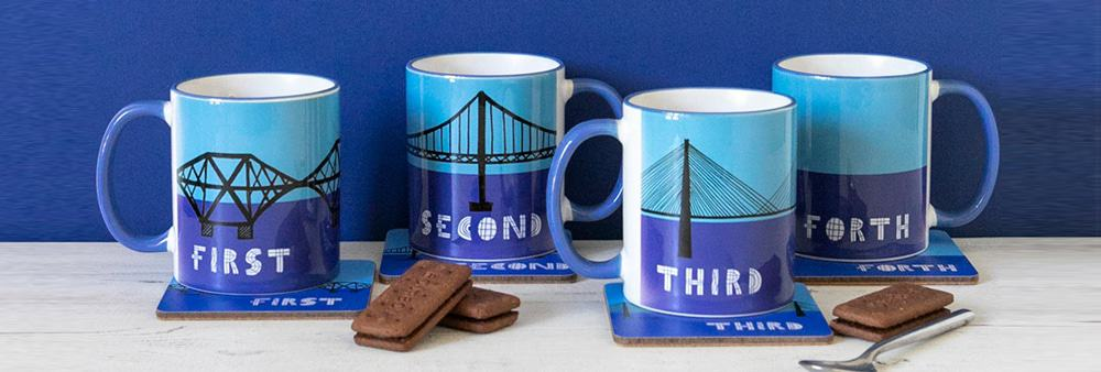 Forth Bridges Scottish Mugs