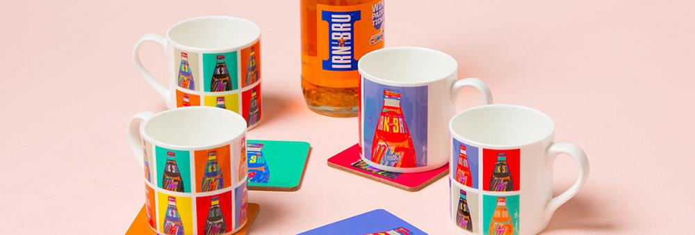 Irn-Bru Scottish Mugs