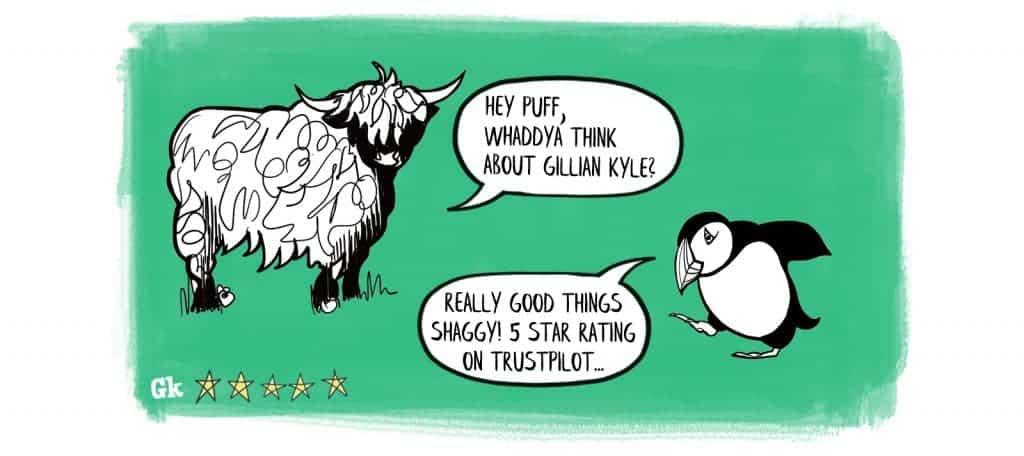Gillian Kyle customer reviews