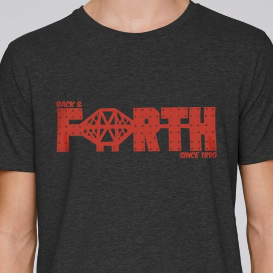 Forth Bridge t-shirt by Gillian Kyle