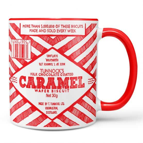 Tunnock's Caramel Wafer mug