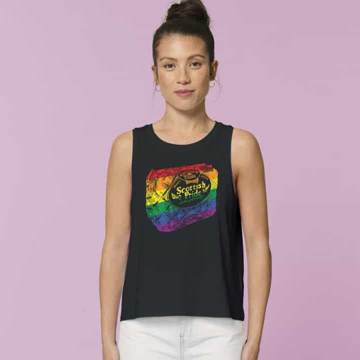 Scottish Pride Cropped Tank