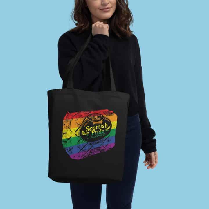 Scottish Pride Tote Bag Black