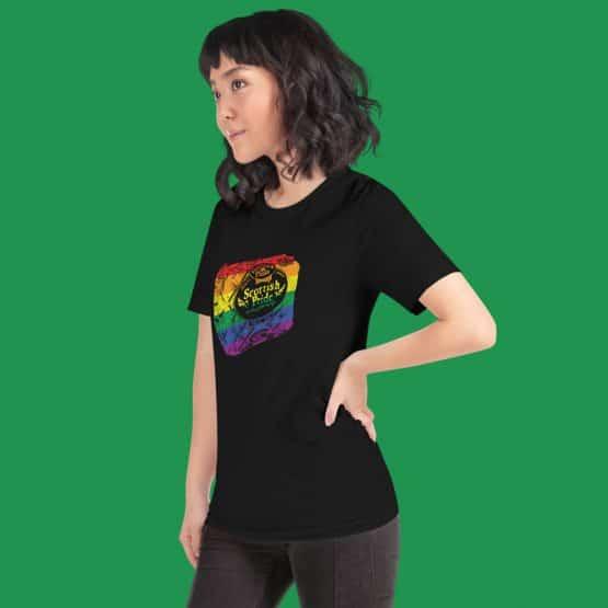 Scottish Pride T-shirt Black