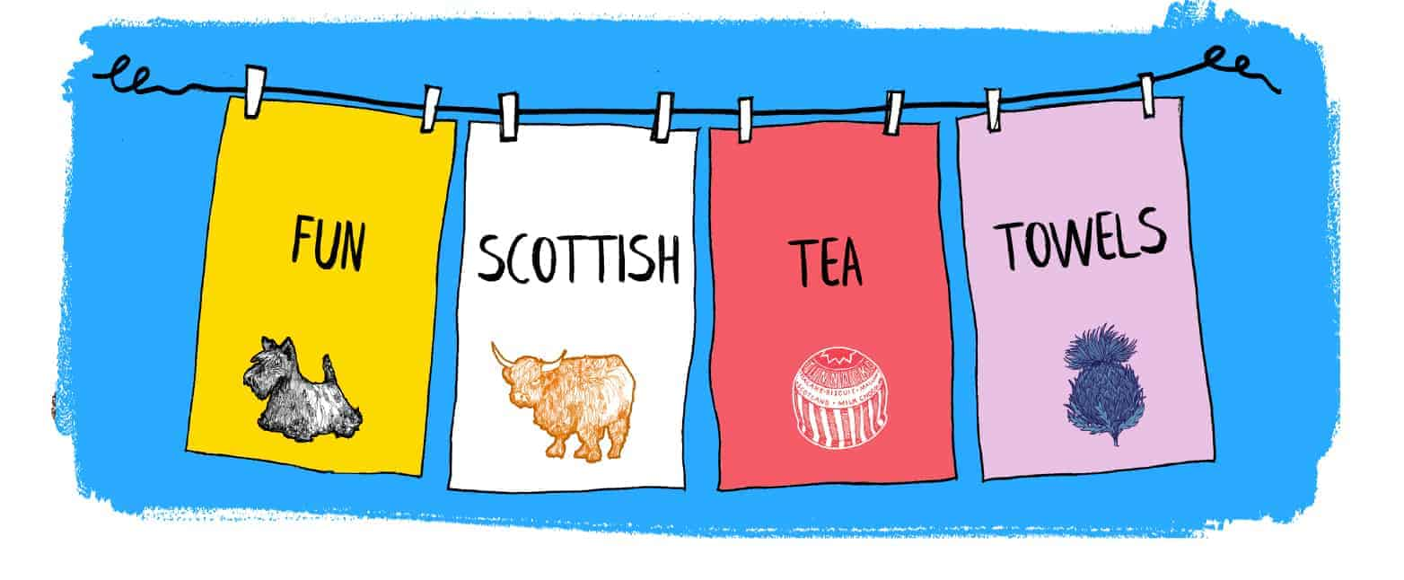 Scottish Tea Towels