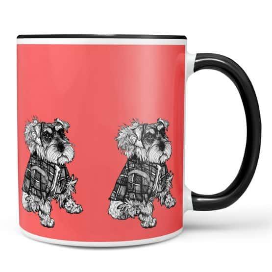 Hamish Miniature Schnauzer mug