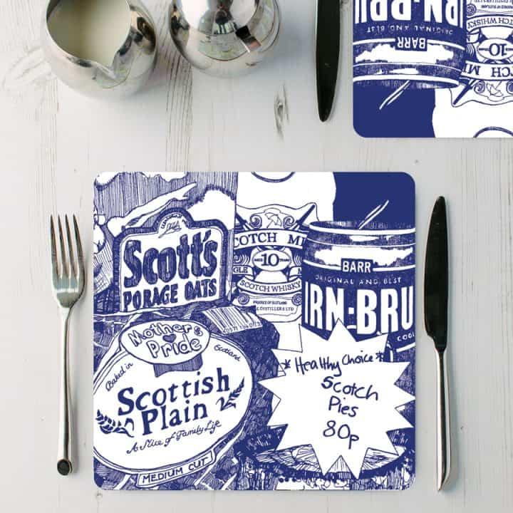 Scottish Breakfast placemats