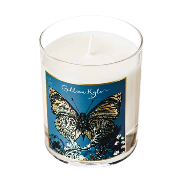 Butterfly Floral Scented Candle
