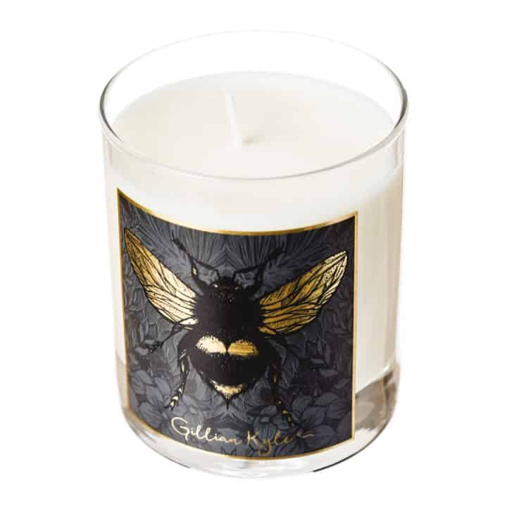Dark Floral Bee Scented Candle