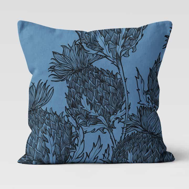 Black Thistle Cushion