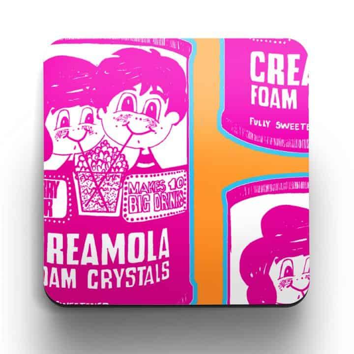 Creamola Foam coaster by Gillian Kyle