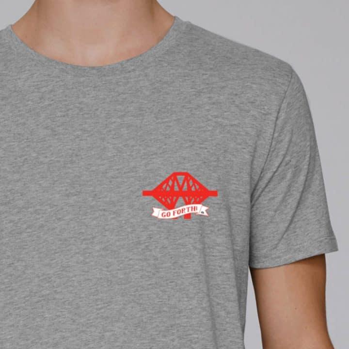 Go Boldly Forth unisex Scottish t-shirt
